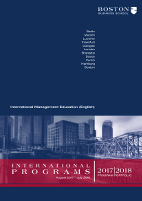 Internationales Programm (Englisch)